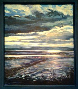 After-the-Rain-Dee-Estuary-framed