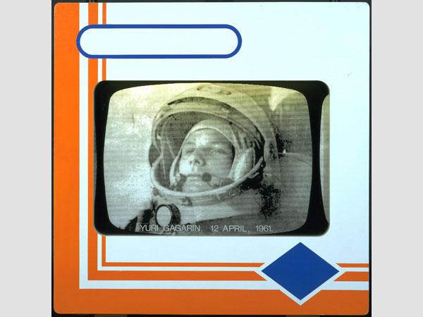 Joe Tilson, born 1928 Transparency I: Yuri Gagarin 12 April 1961 1968 © Joe Tilson. All Rights Reserved, DACS 2015