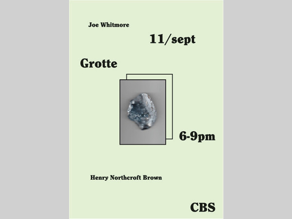 CBS Gallery: Grotte - Joseph Whitmore and Henry Northcroft Brown