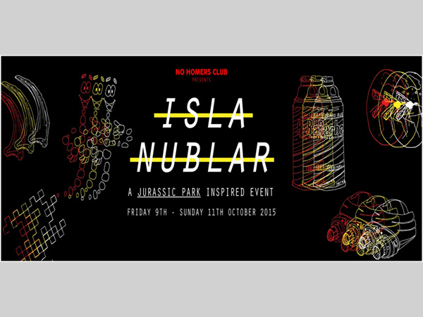 Constellations: Isla Nublar, A Jurassic Park Inspired Event and Art Exhibition