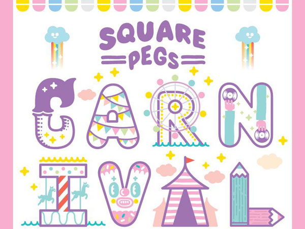 Constellations: SQUARE PEGS CARNIVAL: Kids Event