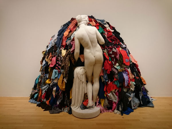 Venus of the Rags by Michelangelo Pistoletto