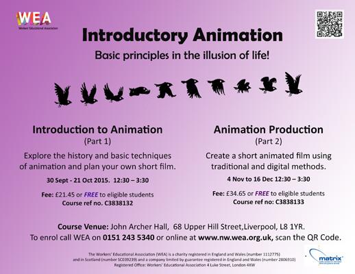 John Archer Hall: Animation Courses