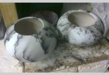 baltic clay pots