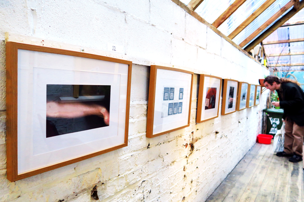 The exhibition at Domino Gallery continues until 4 October. Image c. artinliverpool.com