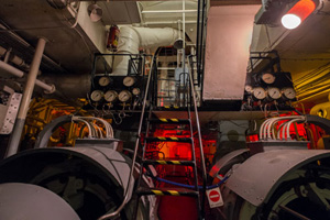 Edmund Gardner engine room. Photo © Mark McNulty