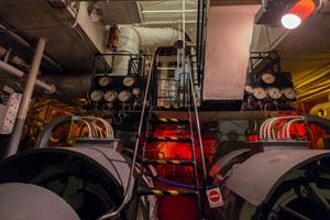 Edmund Gardner engine room. Photo © Mark McNulty