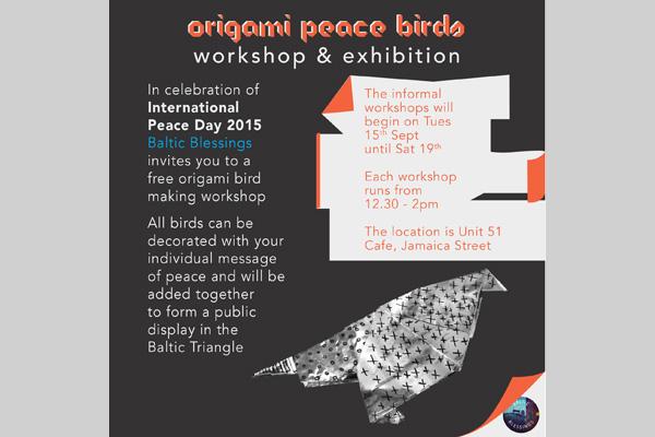 Unit 51: Origami Peace Birds - Workshop & Exhibition