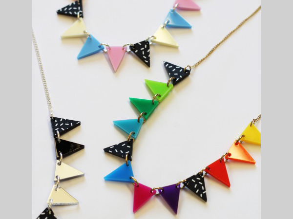 Tate Liverpool: Tatty Devine Bunting Necklace workshop