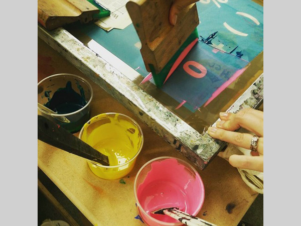 Bluecoat Print Studio: Introduction to Screenprint