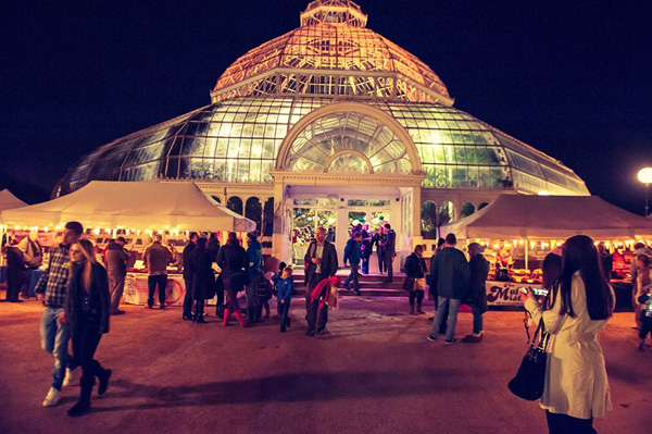 Sefton Park: Artisans in the Palm House, Bonfire Night Special