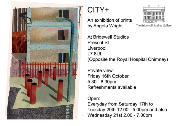 Bridewell: 'CITY+' - Exhibition of Prints by Angela Wright