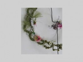 Brindley: Workshop - Embroidered Wire Flowers with Julia Jowett