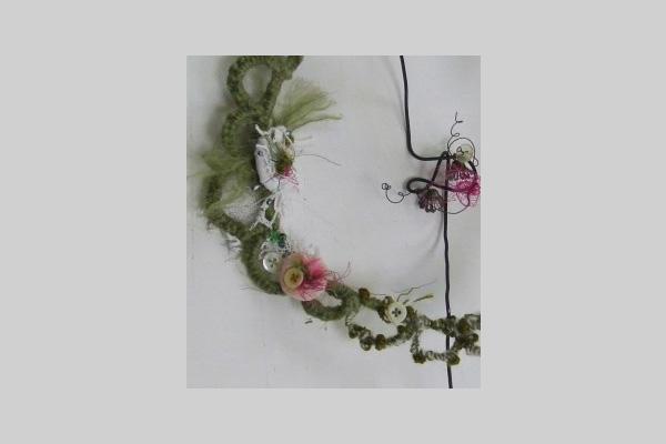 Brindley: Workshop - Embroidered Wire Flowers with Julia Jowett