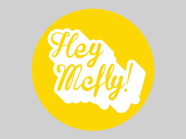 Constellations: Hey McFly! - a Back To The Future themed contemporary art exhibition