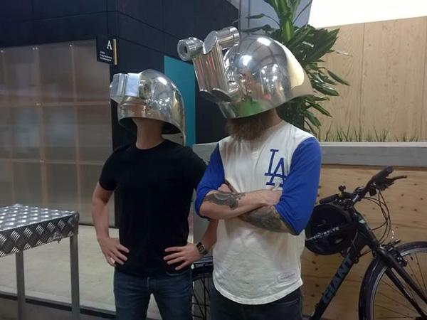 Liverpool Irish Festival: Meta-Perceptual Helmets