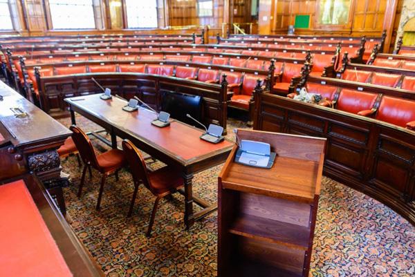 Liverpool Town Hall: 2015 Visible Award: Temporary Parliament