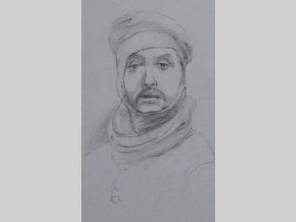 Line Drawing Portrait Artists : Line illustrations feel desain