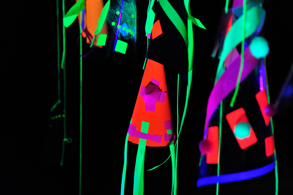 Tate: Family Event - Neon Drawing Disco