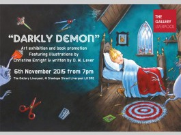 The Gallery Liverpool: 'Darkly Demon' Book Promotion with Illustrations by Christine Enright