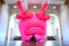 John Walter and his Pug Virus at Walker Art Gallery c. National Museums Liverpool