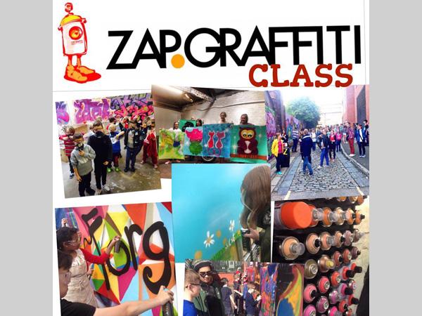 ZAP Graffiti Art Classes