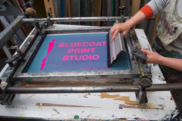 Bluecoat Print studio. c. Brian Roberts