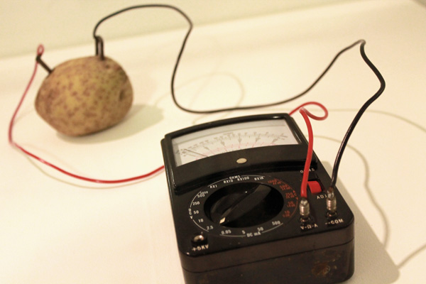 Victor Grippo. Energy of a Potato 1972