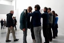 Alexander Pirici and Manuel Pelmuş – Public Collection 2014 – enactment of Plight Joseph Beuys © Alexander Pirici 2014