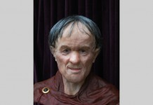 Geoffrey Dutton – a facial reconstruction from a 13th century knight.' (Geoffrey Dutton)