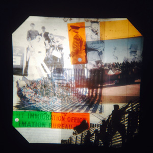 Between The Borders - Collage Making