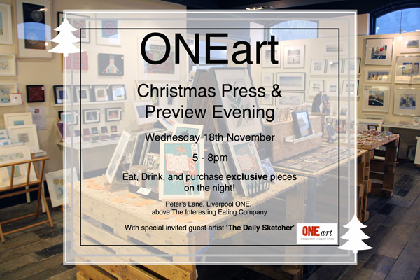 ONEart Christmas Preview Evening