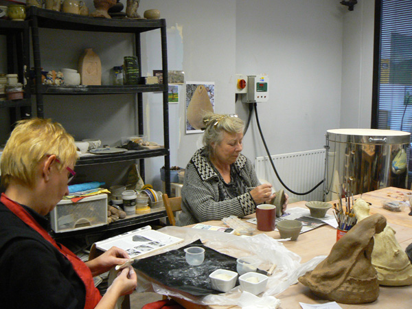 Rathbone Studio: Exhibition of Works by Pottery Students