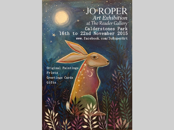 The Reader Gallery: Exhibition by Jo Roper