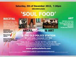 Lark Lane Community Centre: 'SOUL FOOD' – Arias, Songs & Art – Classical music Recital