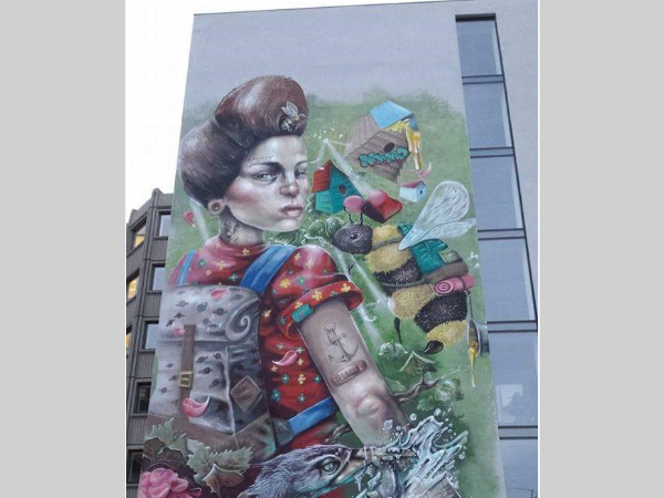 Tempest Building: Unveiling the North's biggest street art project