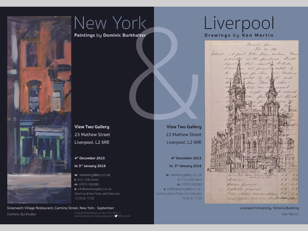View Two Gallery: New York Paintings and Liverpool Drawings