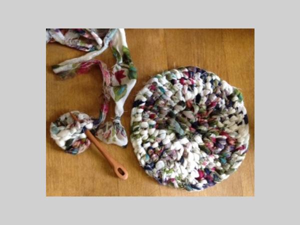Victoria Gallery: Cafe Crafternoon - Rag Rug Workshop