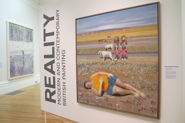 REALITY at the Walker Art Gallery. Figures at Ebb Tide (2000), Philip Harris, shown in foreground