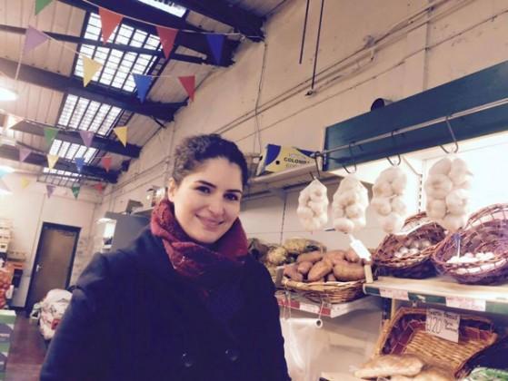 Haleh Jamali in K&N Greengrocers