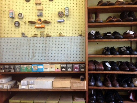 Frank Cavanagh Shoe Repairs (Interior)