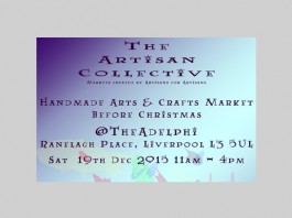 Adelphi: The Artisan Collective - Handmade Arts & Crafts B4 Xmas Market