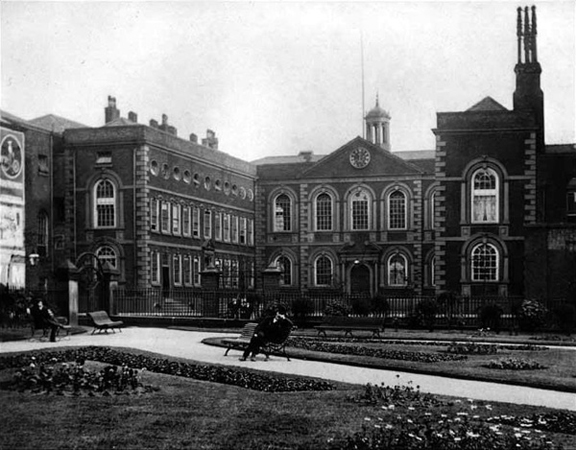 Historic picture of Bluecoat