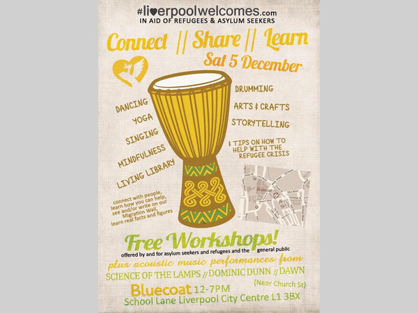 liverpool welcomes poster