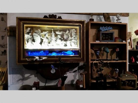 Automata by Simon Venus and Works by Tristan Brady-Jacobs