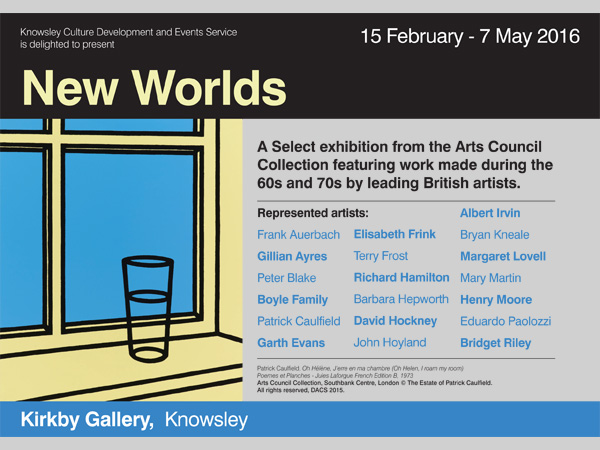 Kirkby Gallery: 'New Worlds' - British Art from the 60s and 70s