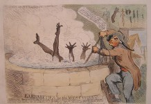 BARBARITIES IN THE WEST INDIAS- by James Gillray. Courtesy of National Museums Liverpool