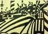 Dazzle Ship Print (detail) at the Walker