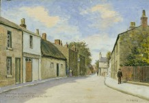 Harold Hopps. Wallasey Village Street opposite Cheshire Cheese