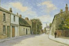 Harold Hopps. Wallasey Village Street opposite Cheshire Cheese